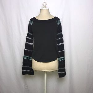 Free People Tribal Print Sweater (Size: S)